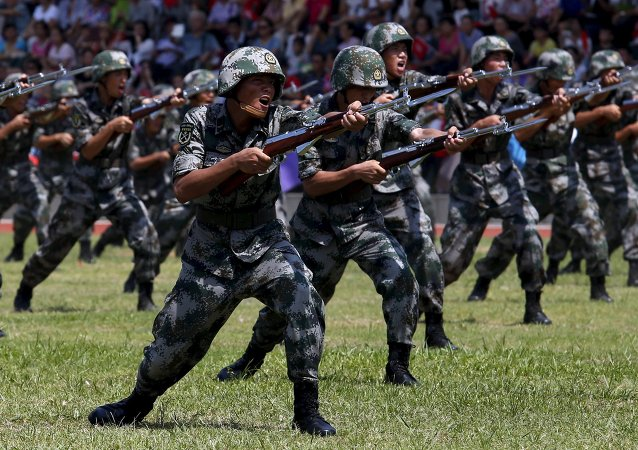 Soldados del Ejército Popular de Liberación de China