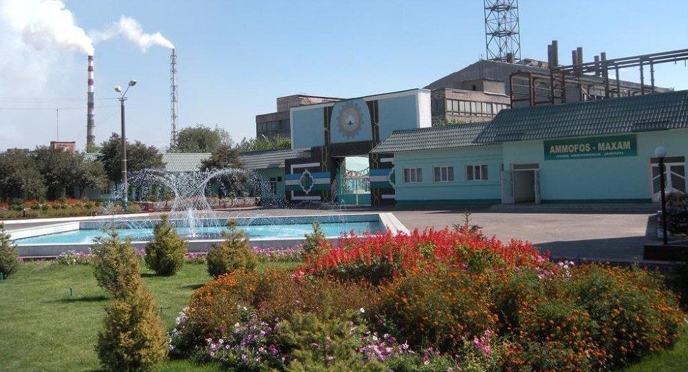 Empresa química uzbeka Ammofos-Maxam