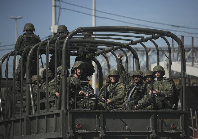 Soldados del Ejército Brasileño