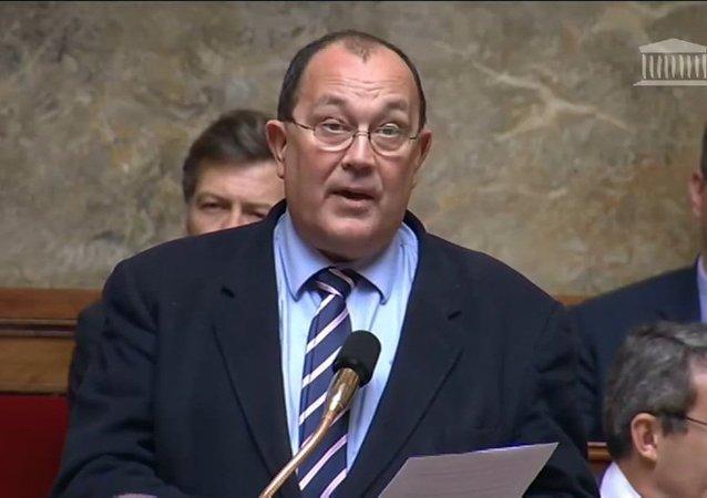 El diputado de la Asamblea Nacional, Jérôme Lambert