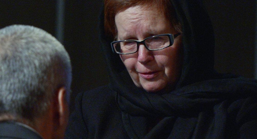 Vera Sténina, la madre de Andréi Stenin