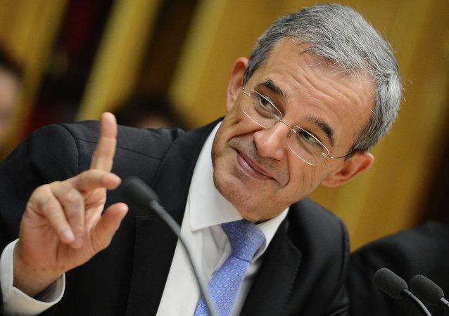 Thierry Mariani, diputado de la Asamblea Nacional de Francia, copresidente de la asociación Diálogo Franco-Ruso, en Rusia, el 23 de julio, 2015