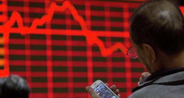 Bolsa en China