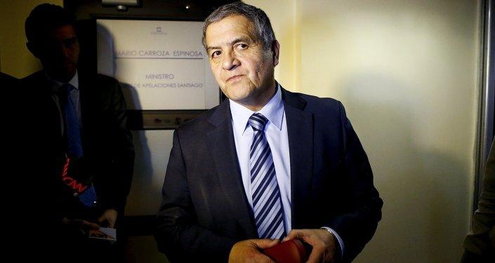 Mario Carroza, juez a cargo del caso