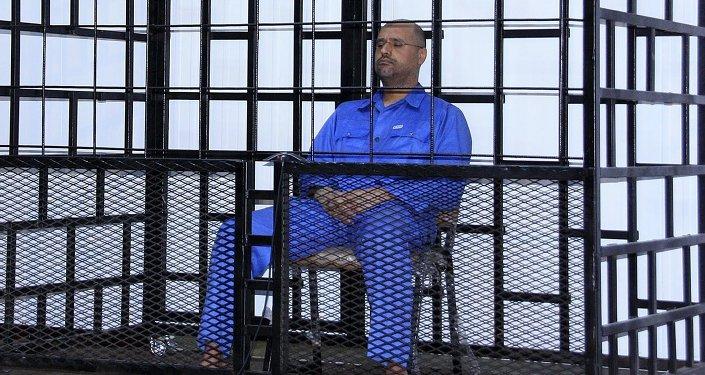 Seif Al Islam Gadafi, hijo del exlíder libio, Muamar Gadafi