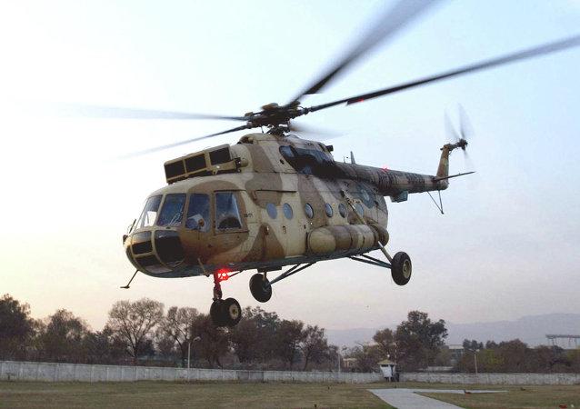 Un Mi-17 del ejército Pakistaní (archivo)