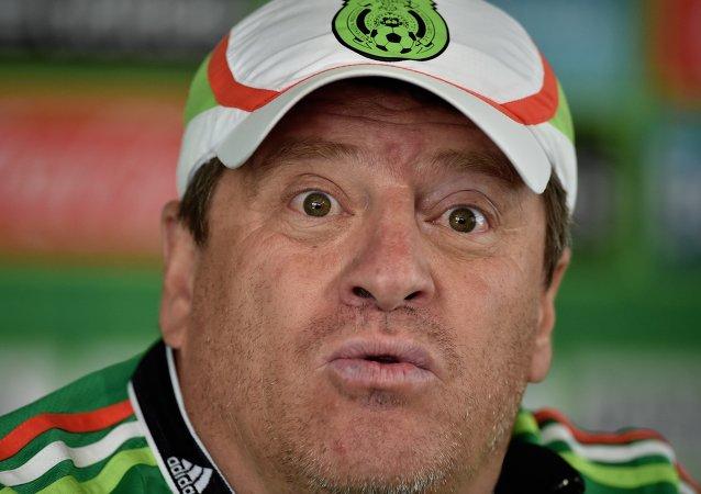 Director técnico de la selección nacional mexicana, Miguel Piojo Herrera