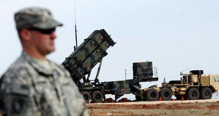 Misil estadounidense Patriot (archivo)