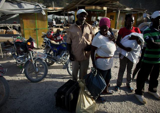Migrantes haitianos (Archivo)