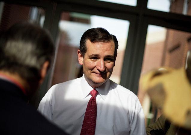 Ted Cruz, candidato republicano a la presidencia de EEUU