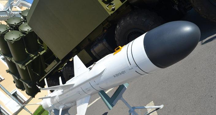Misil antibuque X-35 usado en sistemas de misiles tierra-mar Bal