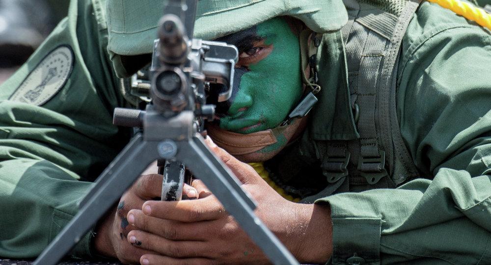 Soldado venezolano (archivo)