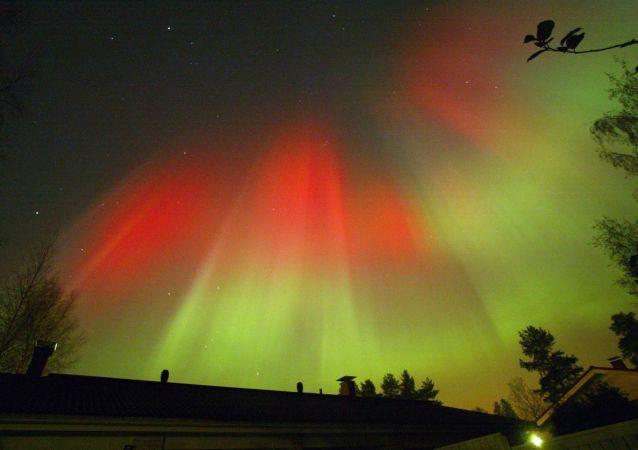 Aurora boreal (archivo)
