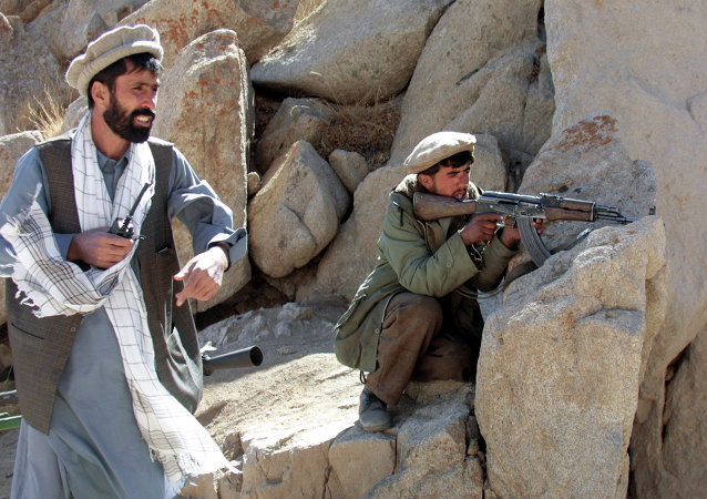 Insurgentes en Afgaanistán (archivo)