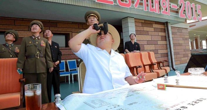 Kim Jong Un, líder de Corea del Norte (archivo)