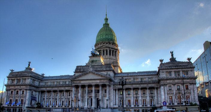 Edificio de Congreso de la Nación Argentina en Buenos Aires (archivo)