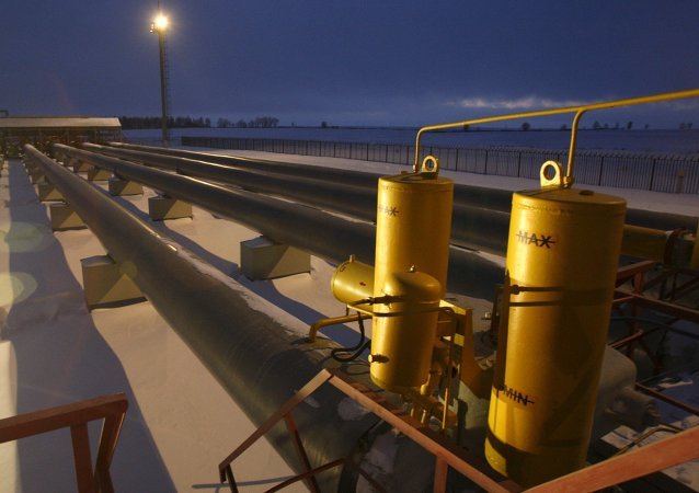 Gasoducto en Rusia