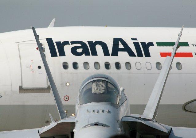 Aerobús de la aerolínea Iran Air