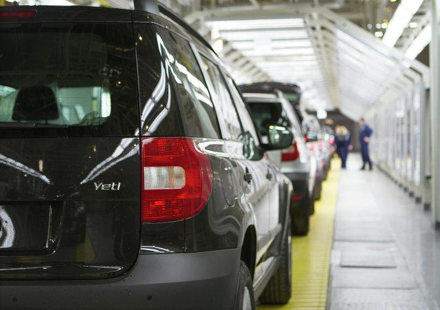 El montaje de automóviles Skoda en GAZ