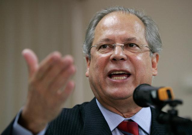 José Dirceu, el exministro brasileño, San Paolo, 30.08.2007