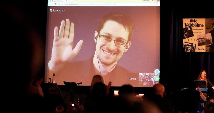 Edward Snowden, exagente de EEUU