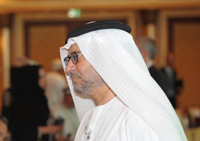 Anwar Mohamed Gargash, ministro de Exteriores de los Emiratos Árabes Unidos