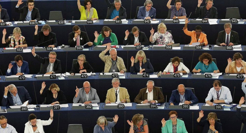 Miembros del Parlamento Europeo (archivo)