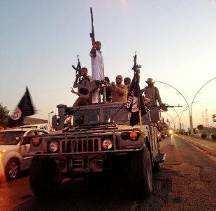 Milicianos del grupo yihadista Estado Islámico