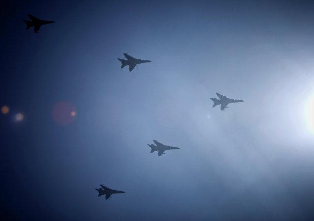 Cazas de la Fuerza Aérea de China