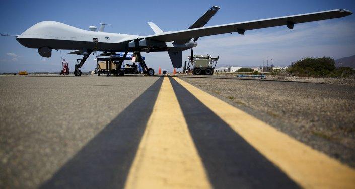 Dron militar MQ-9 Reaper estadounidense