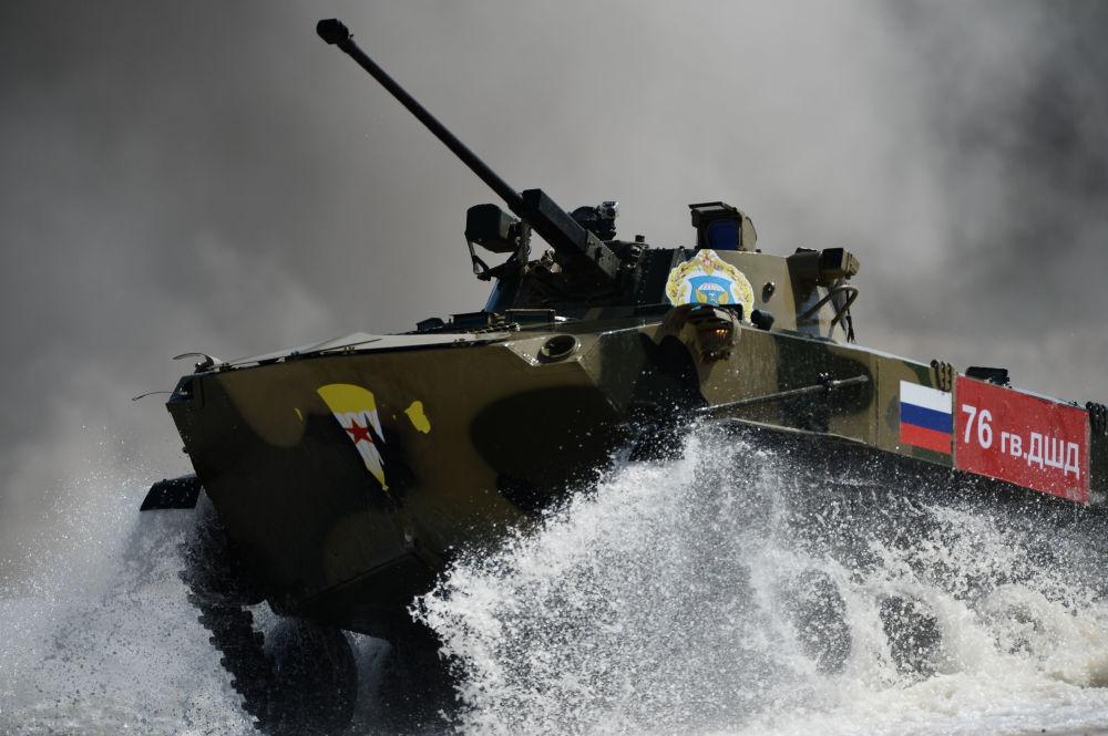 Torneo de tropas aerotransportadas de Rusia, Bielorrusia y China