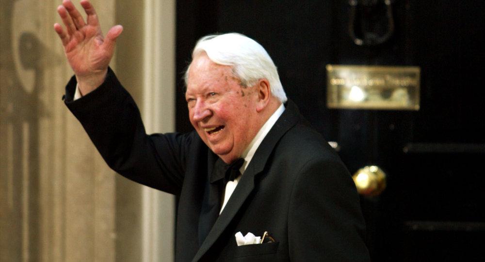 Edward Heath, ex primer ministro de Reino Unido y líder del Partido Conservador