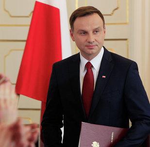 Andrzej Duda, el presidente polaco