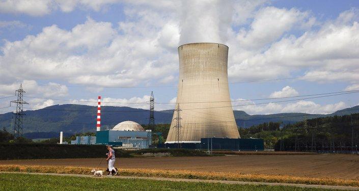 Planta nuclear Goesgen en la ciudad de Daeniken, Suiza