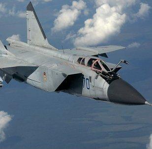 Caza interceptor ruso MiG-31