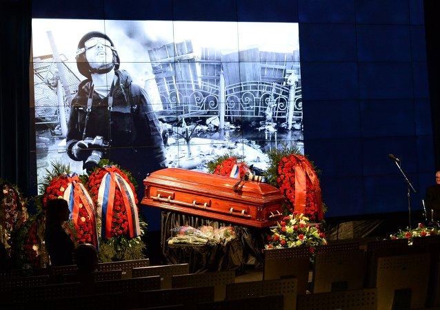 Hace un año murió en Donbás el periodista Andréi Stenin