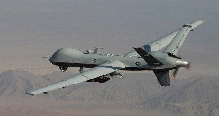 Dron estadounidense MQ-9 Reaper