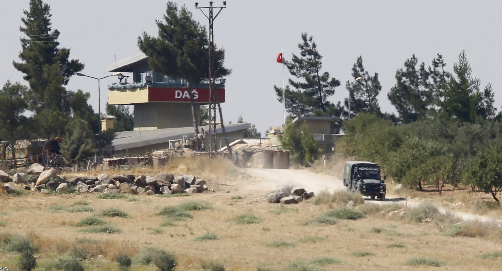 Frontera entre Siria y Turquía
