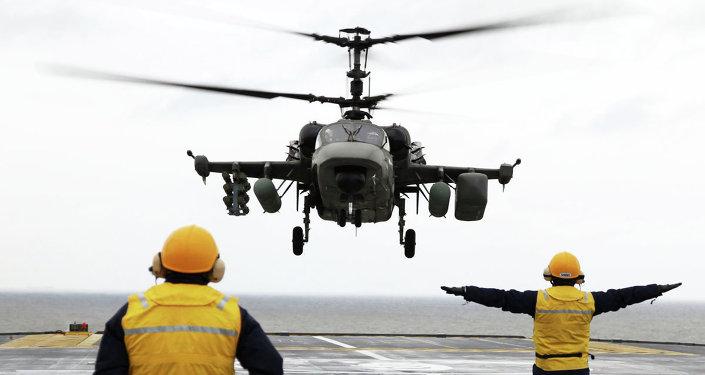 Helicóptero de combate Ka-52K