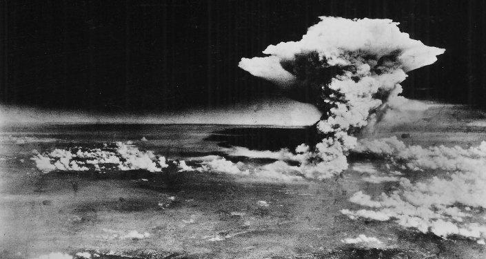 Nube de hongo sobre Hiroshima, el 9 de agosto de 1945