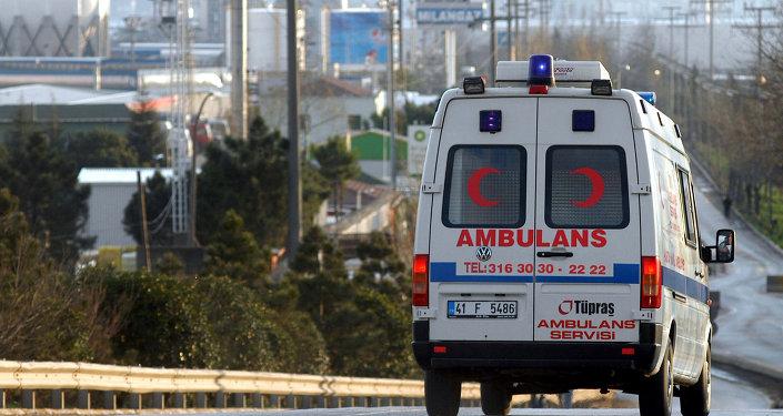 Ambulancia turca (imagen referencial)