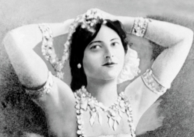An undated photo of Mata Hari