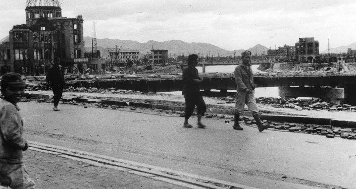 Hiroshima en octubre de 1945