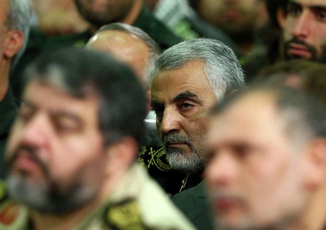 Qasem Soleimani, comandante de la Fuerza Quds