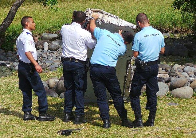 Fragmento hallado es del MH370