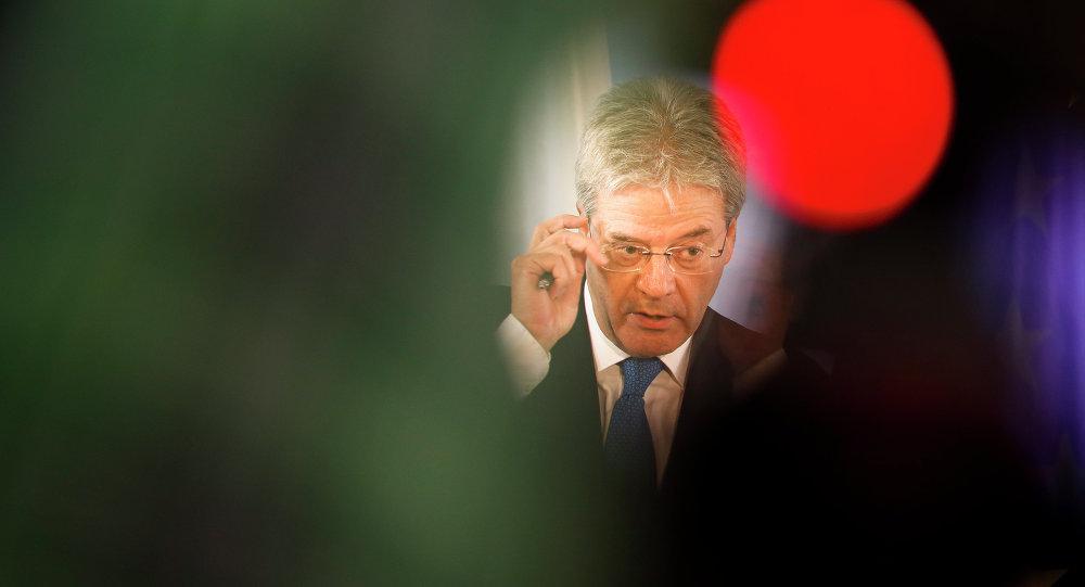 Paolo Gentiloni, ministro de Asuntos Exteriores de Italia