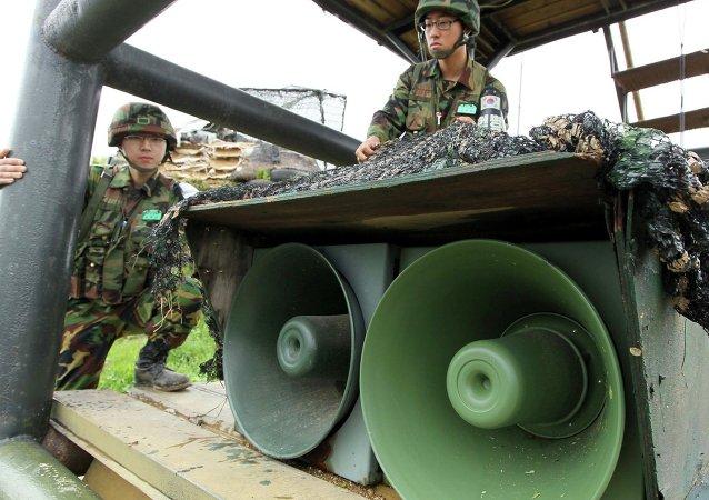 Corea del Sur planea reanudar guerra psicológica contra Corea del Norte