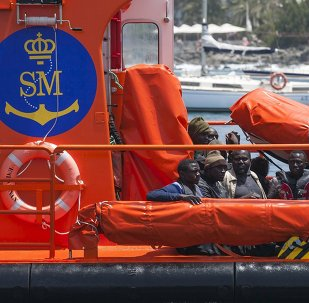 Una lancha de Salvamento Marítimo de España (archivo)