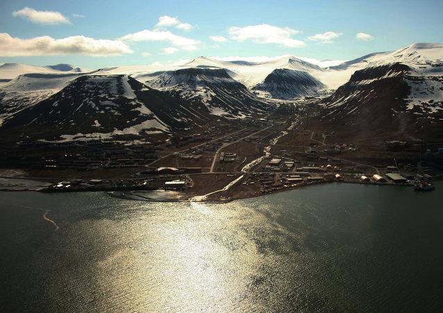 La isla de Spitsbergen