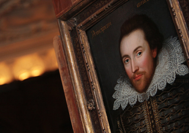 Un retrato de William Shakespeare